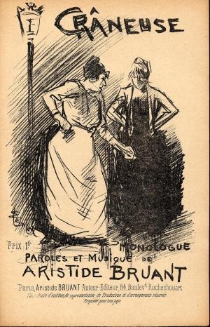 Craneuse, 1889 - Theophile Steinlen