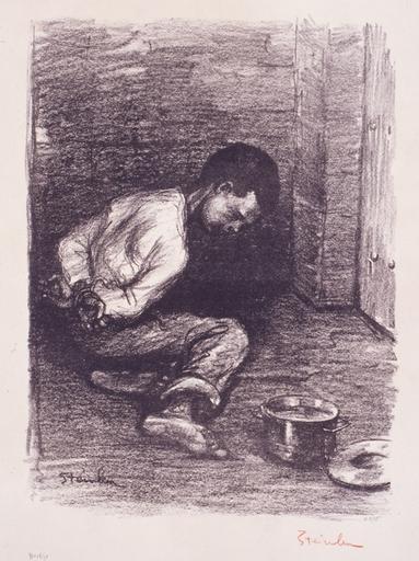 Enfant Martyr - Theophile Steinlen