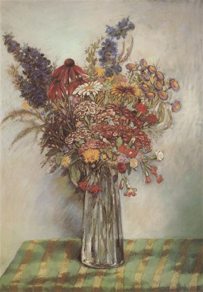 Flowers, 1908 - Theophile Steinlen