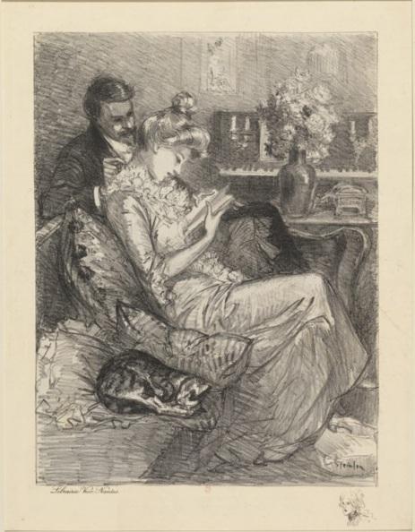 Intimite, 1901 - Theophile Steinlen
