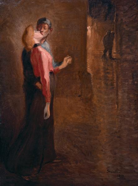 L'Idylle, 1909 - Theophile Steinlen