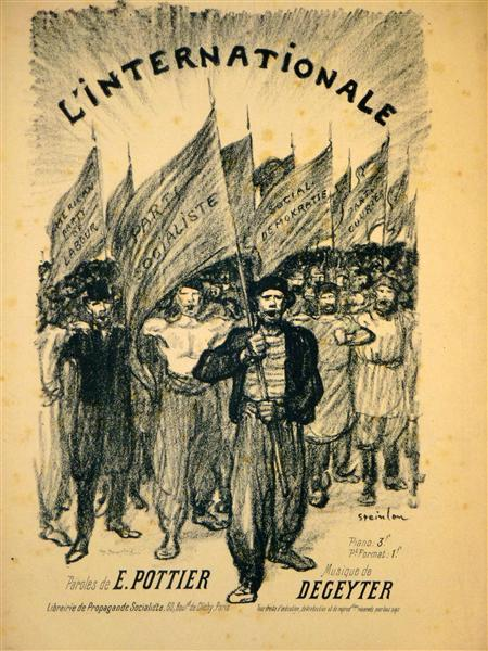 L'Internationale, 1895 - Theophile Steinlen