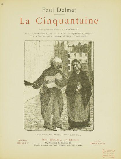 La Cinquantaine, 1898 - Theophile Steinlen