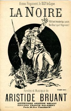 La Noire, 1884 - Theophile Steinlen