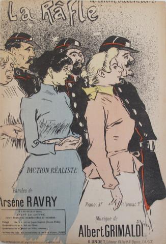 La Rafle, 1894 - Théophile-Alexandre Steinlen