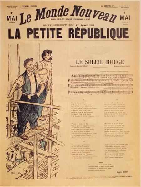 Le Monde Nouveau, 1896 - Theophile Steinlen