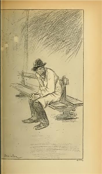 Le Mot Passe - Théophile Alexandre Steinlen