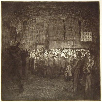 Les Chanteurs des rues - Theophile Steinlen