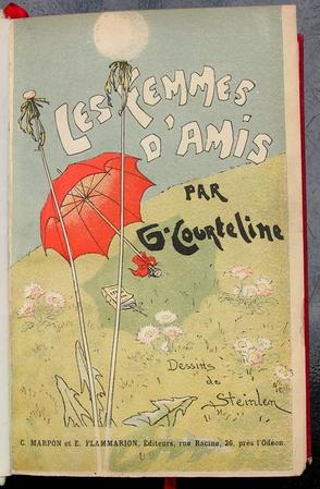 Les Femmes d'Amis, 1887 - Theophile Steinlen