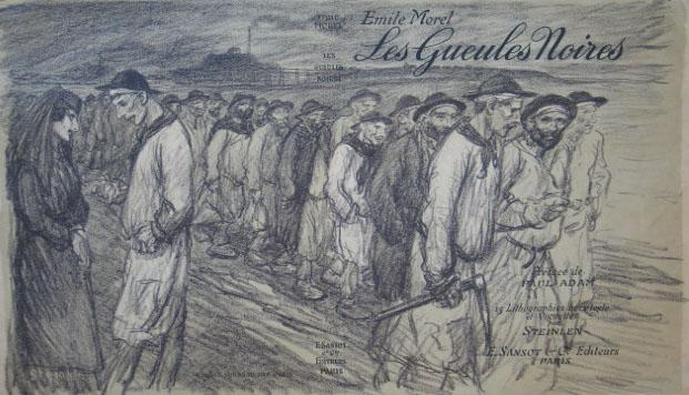 Les Geules Noires, 1907 - Theophile Steinlen