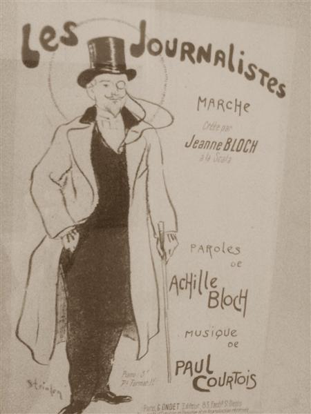 Les Journalistes, 1894 - Theophile Steinlen
