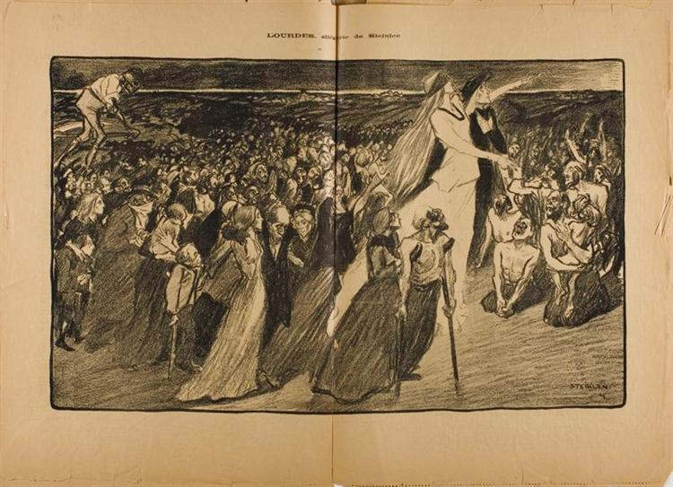 Lourdes, 1894 - Theophile Steinlen