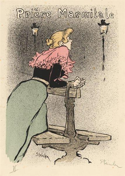 Priere Marmitale, 1894 - Theophile Steinlen