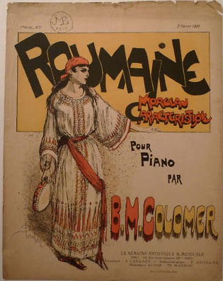 Roumaine, 1889 - Theophile Steinlen