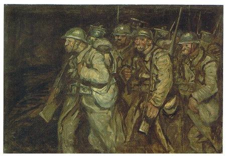 Soldiers -, 1916 - Theophile Steinlen