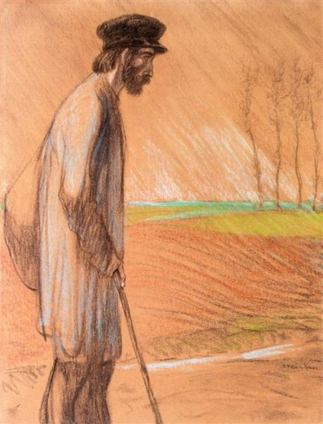 Standing Man - Theophile Steinlen