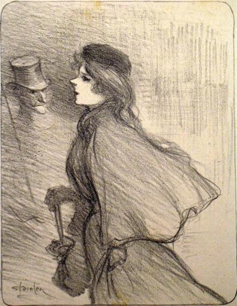 Ton Nez, 1896 - Theophile Steinlen