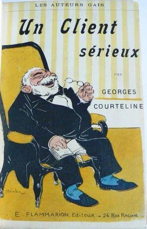 Un Client Serieux, 1897 - Theophile Steinlen