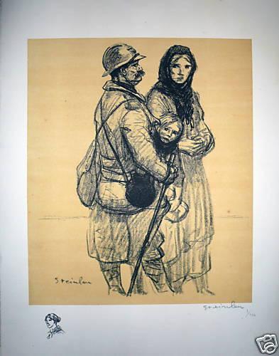 Un Poilu a Petain, 1916 - Theophile Steinlen