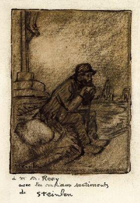 Un Vieux, 1911 - Theophile Steinlen