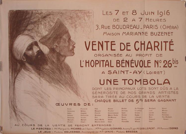 Vente de Charite, 1916 - Theophile Steinlen
