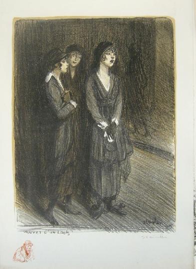 Veuves d'un Louis, 1915 - Theophile Steinlen