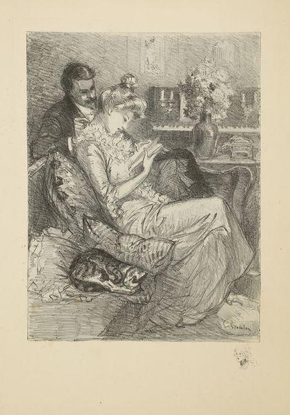 Volupte, 1897 - Theophile Steinlen