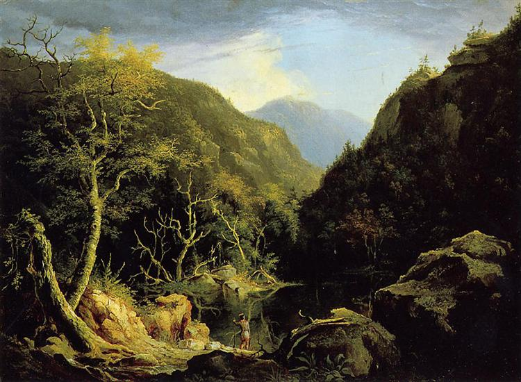 Autumn in the Catskills, 1827 - Thomas Cole