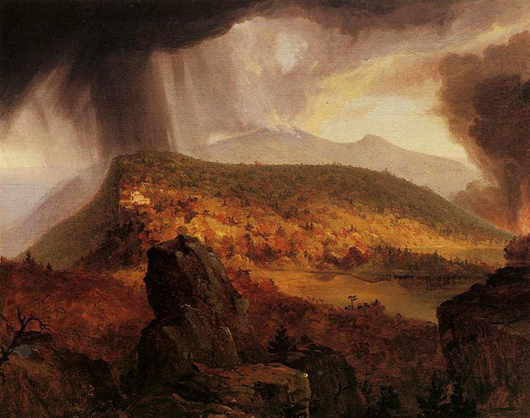 Catskill Mountain House, The Four Elements, 1843 - 1844 - Thomas Cole