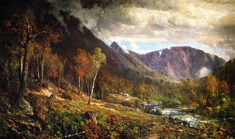 Crawford Notch, 1872 - Thomas Hill