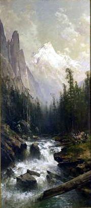 Mountain Stream, 1885 - Thomas Hill