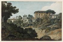 Ariccia, edifici ai margini della città - Thomas Jones