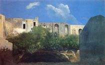 Edifici in rovina, Napoli - Thomas Jones