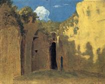 La grotta di Posillipo - Thomas Jones
