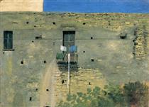 Muro a Napoli - Thomas Jones
