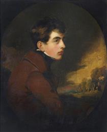 George Gordon Noel, Lord Byron, Poet - Томас Лоуренс