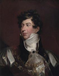 HRH George, Prince of Wales, KG - Thomas Lawrence
