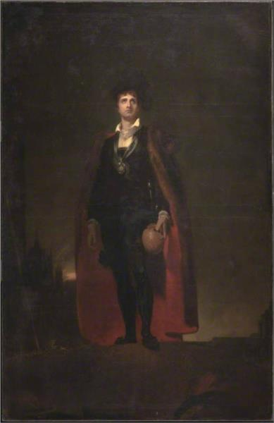 John Philip Kemble as Hamlet, 1801 - Thomas Lawrence