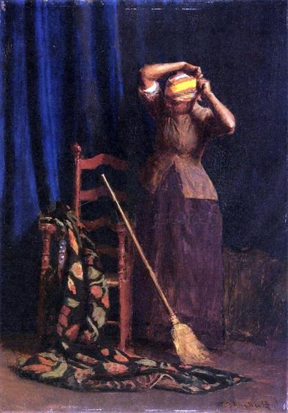 The Chore, 1900 - Томас Поллок Аншутц