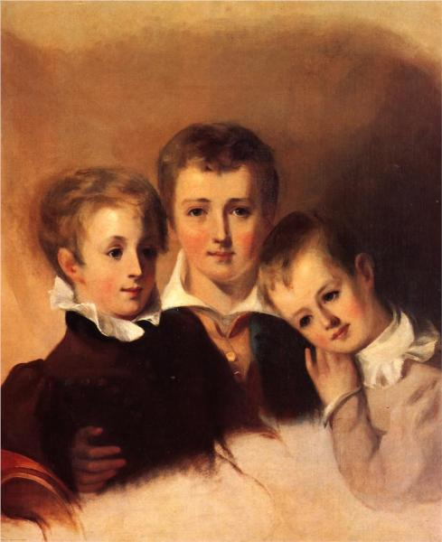 Portrait of the Howell Boys - Thomas Sully