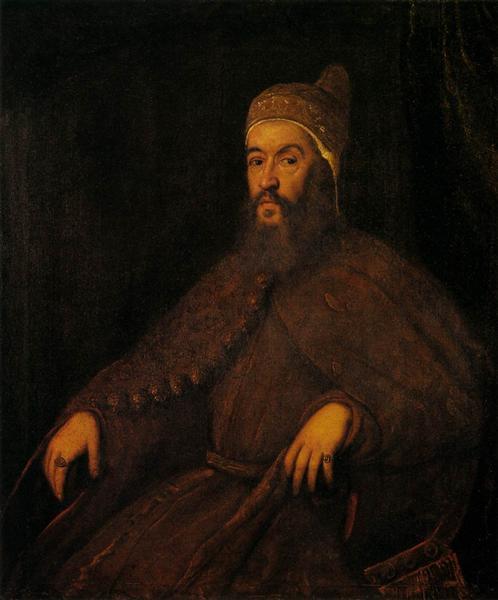 Doge Alvise Mocenigo, c.1570 - Tintoretto