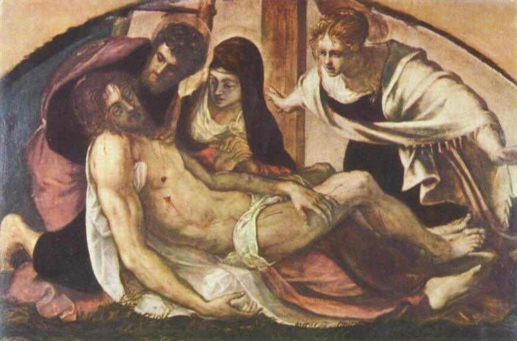 Lamentation, 1563 - Tintoretto