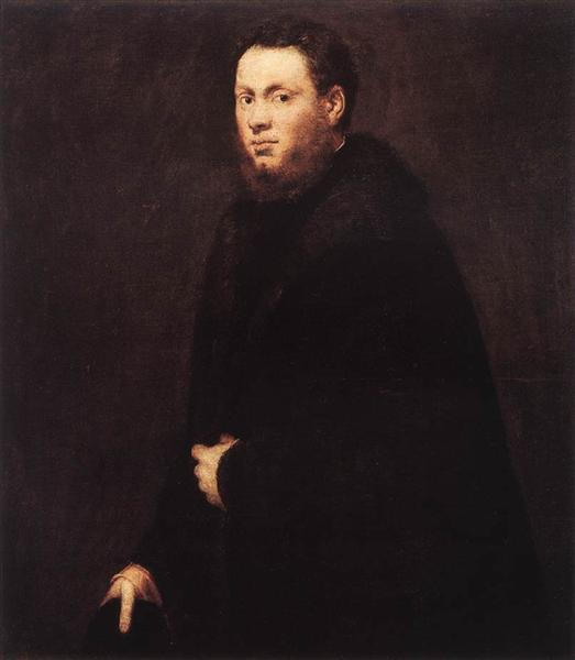 Portrait of a Young Gentleman, c.1555 - Tintoretto