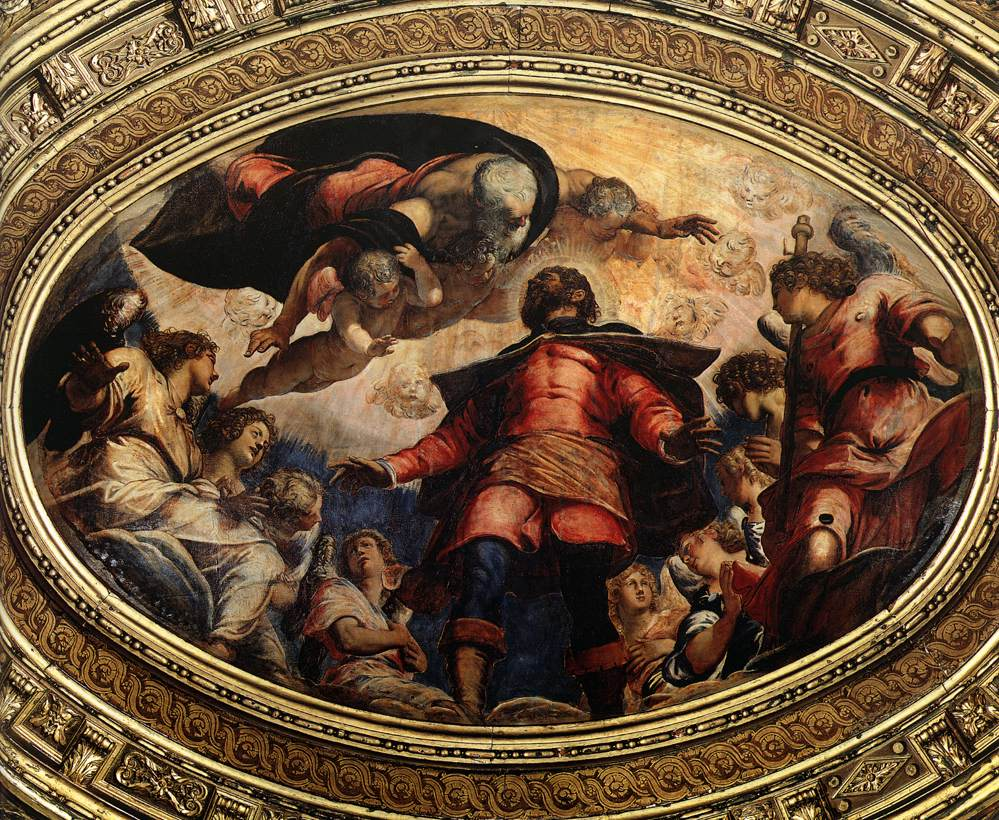 The Apotheosis of St Roch, 1564