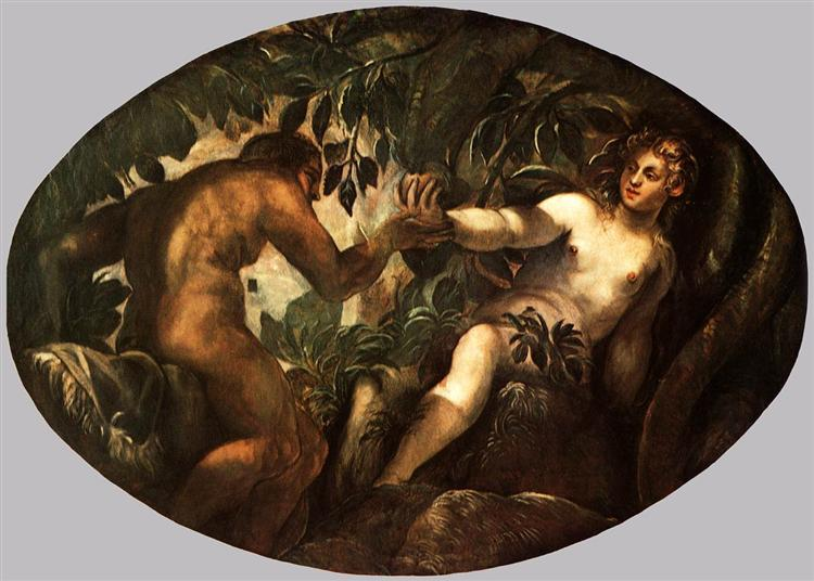 The Fall of Man, 1577 - 1578 - Jacopo Tintoretto