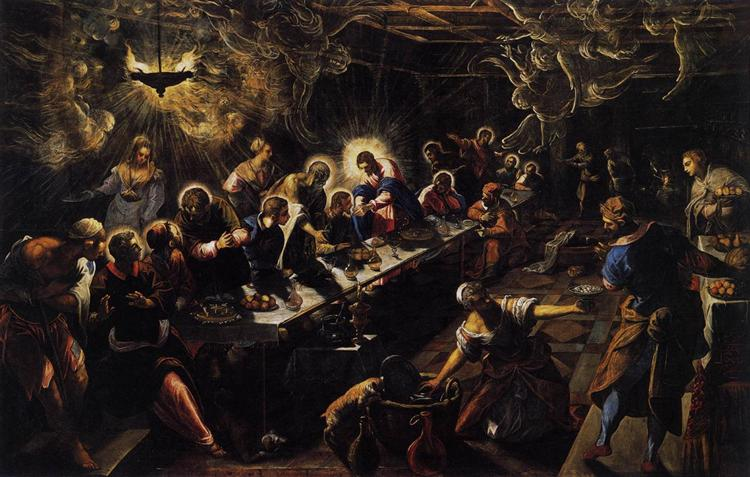The Last Supper - Tintoretto