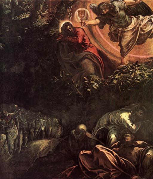 The Prayer in the Garden, 1578 - 1581 - Tintoretto