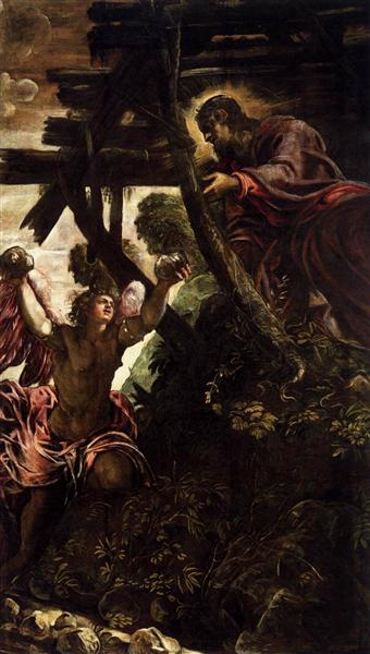 The Temptation of Christ, 1579 - 1581 - Tintoretto
