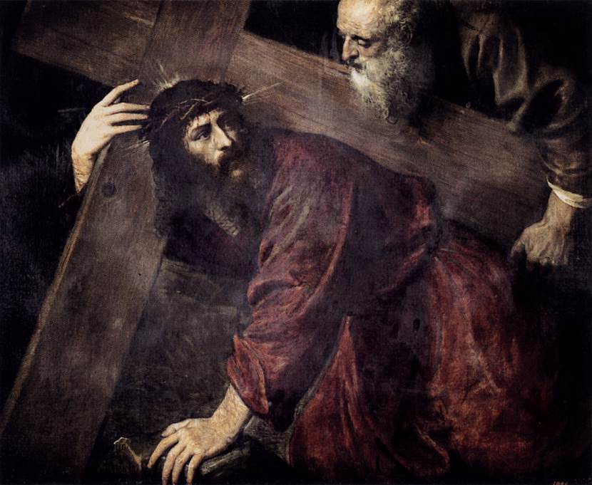 Christ Carrying the Cross - Titian - WikiArt.org ...