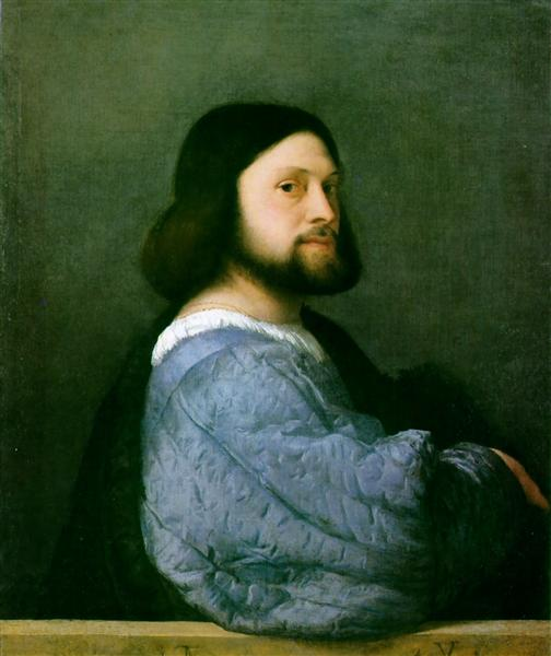 Portrait of Ariosto, 1508 - 1510 - Titian